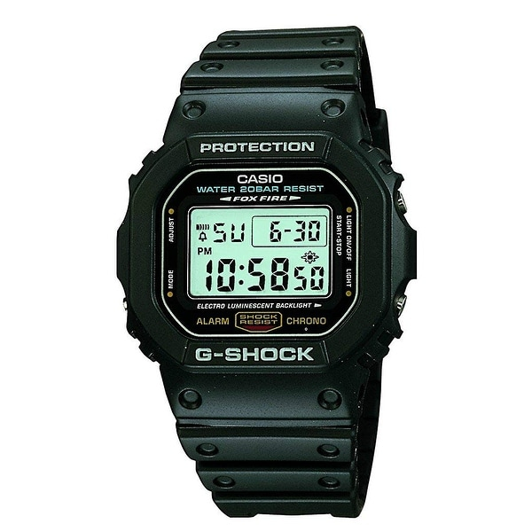 Casio DW5600E-1V Casio G-SHOCK DW5600E-1V Wrist Watch - Men - Sports Chronograph - Digital - Quartz