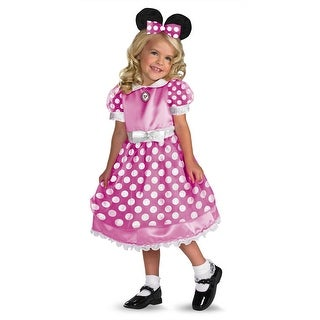 Disguise Disney Clubhouse Minnie Mouse Toddler Costume (Pink) - Pink
