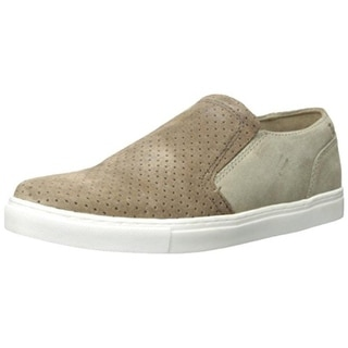 Kenneth Cole Mens Stake A Clay Suede Perforated Fashion Sneakers - 10.5 medium (d)