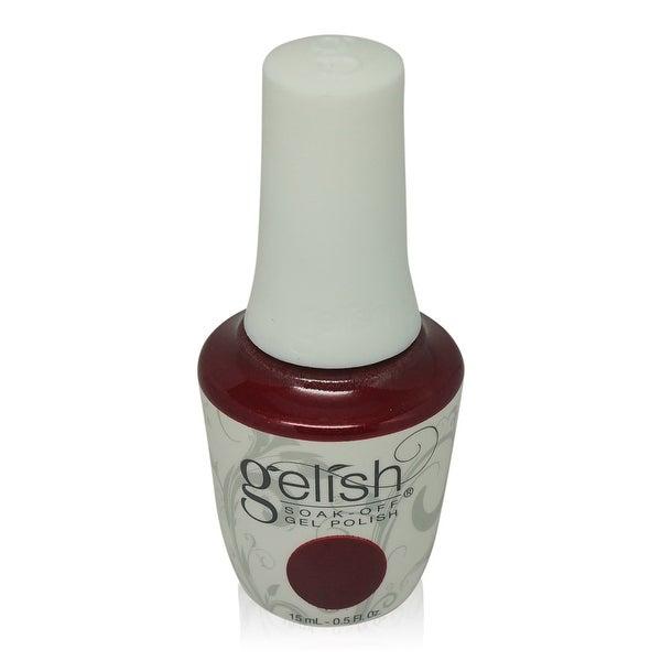Gelish - Soak-Off Gel Polish Red Glitter-Good Gossip