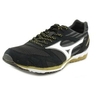 Mizuno Wave Ekiden 8 Men Round Toe Synthetic Black Running Shoe