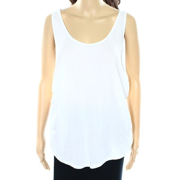 f5f37773d2862 Shop Polo Ralph Lauren NEW White Womens Size Medium M Racerback Tank Top -  Free Shipping On Orders Over  45 - Overstock.com - 17827972