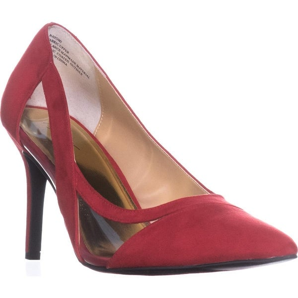 TS35 Nayomi Cut-Out Pumps, Red