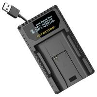 NITECORE ULM9 Leica Camera Battery Charger for BLI-312 Batteries