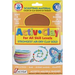 Terra Cotta - Activ-Clay Air-Dry Clay 1Lb