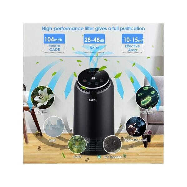 Shop PARTU Air Purifier- Silent Hepa Air Purifiers for Home
