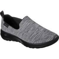 Skechers Women's GOwalk Joy Enchant Slip-On Walking Shoe Black/Black