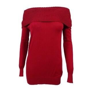 MICHAEL Michael Kors Women's Off-The-Shoulder Sweater