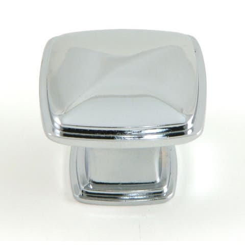 Stone Mill Hardware - Polished Chrome Providence Cabinet Knobs (10 Pack)