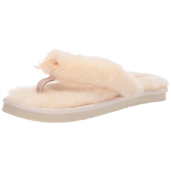 2853964a853 Shop UGG Women's W Fluff Flip Flop III Slipper - 11 - Free Shipping ...