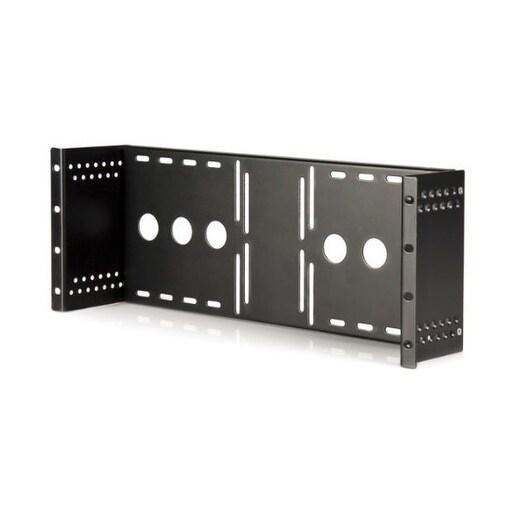 "Startech Rklcdbk 19"" Universal Vesa Lcd Mounting Bracket Rack Or Cabinet"