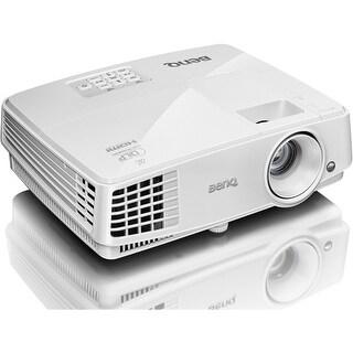 """BenQ MX570 BenQ MX570 3D Ready DLP Projector - 720p - HDTV - 4:3 - Front, Ceiling - 190 W - PAL, NTSC, SECAM - 4500 Hour - 6000"