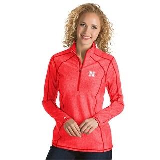 University of Nebraska Ladies Tempo 1/4 Zip Pullover