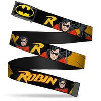 Batman Fcg Black Yellow Chrome Robin Red Black Poses Black Webbing Web Web Belt