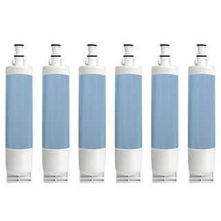 Whirlpool ED5LHAXMQ00 Replacement Refrigerator Water Filter Cartridge by Aqua Fresh (6 Pack)