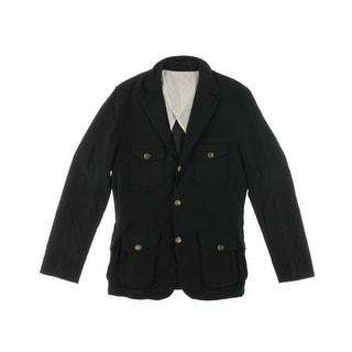 Zara Mens Cotton Notch Collar Sportcoat