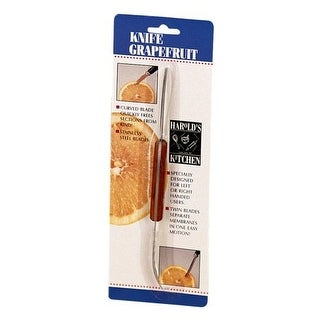 HIC 43146 Squirt-Free Grapefruit Knife, Stainless Steel