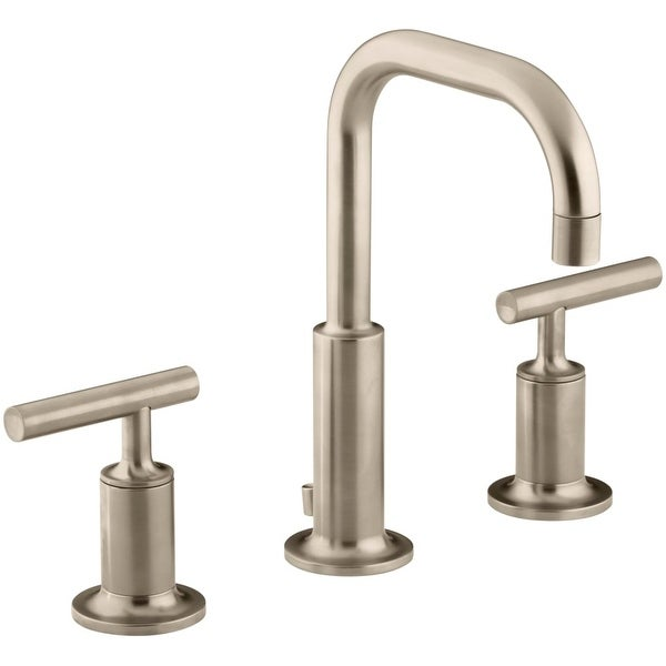 Shop Kohler K 14406 4 Purist Widespread Bathroom Faucet With Ultra