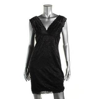 Guess Womens Lace Double-V Clubwear Dress - M
