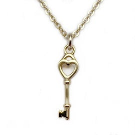 Julieta Jewelry Key Of My Heart Charm Necklace