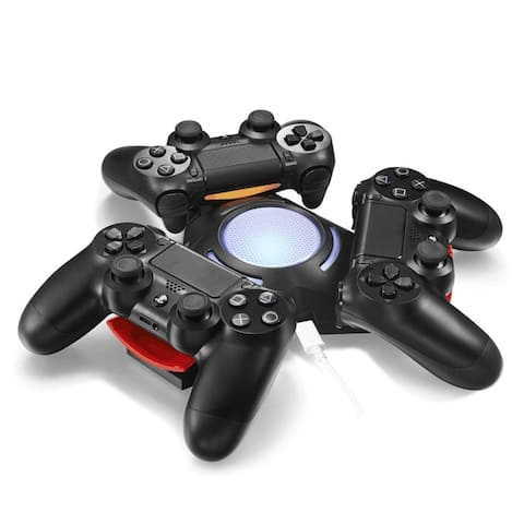 AGPTEK PS4 Controller DualShock Three Controller Triangle Dock for Playstation 4 Controller - M