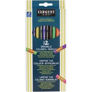 Erasable Colored Pencils 12/Pkg-