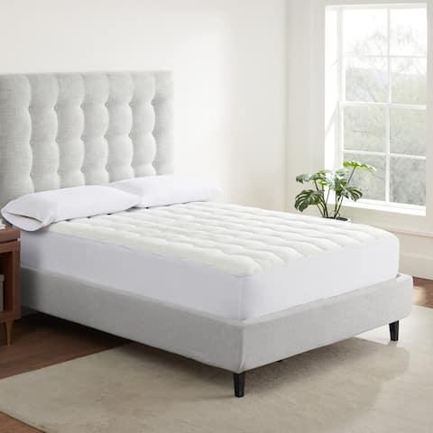 Serta Air Dry Extra Comfort Mattress Pad - White