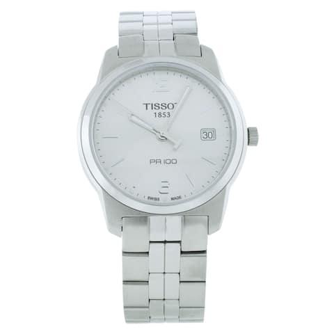 Tissot Men's PR 100 Silver Dial Watch - T0494101103701 - One Size