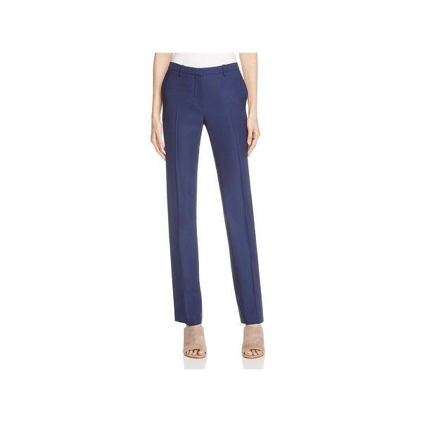 Theory Womens Hartsdale B Trouser Pants Wool Single Pleat