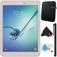 "Samsung 32GB Galaxy Tab S2 9.7"" Wi-Fi Tablet (Gold) SM-T813NZDEXAR + Universal Stylus for Tablets Bundle"