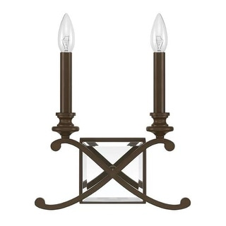 """Donny Osmond Home 8062 2 Light 11.5"""" Tall ADA Compliant Wall Sconce from the Alexander Collection"""
