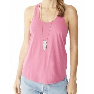 Alternative Apparel NEW Pink Women's Size Medium M Tank Cami Solid Top