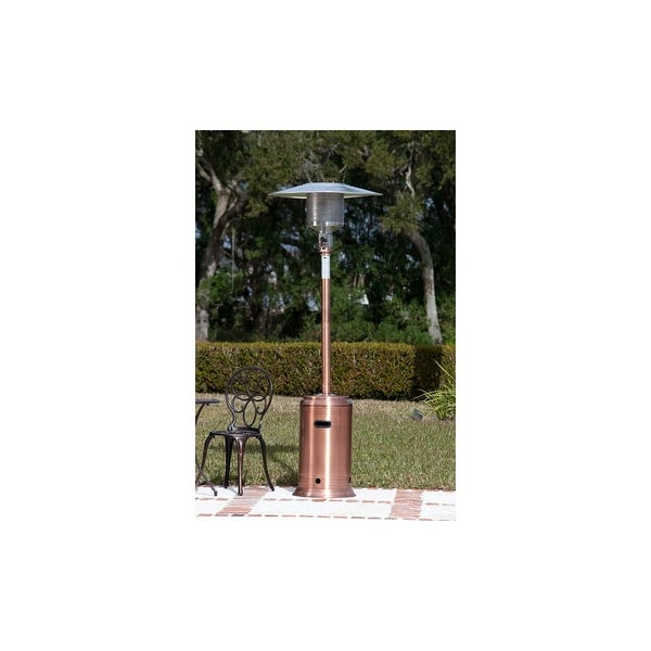 Fire Sense 60688 89 Tall 46000 Btu Free Standing Liquid Propane Heater With Piezo Ignition System Copper N A Shipping Today