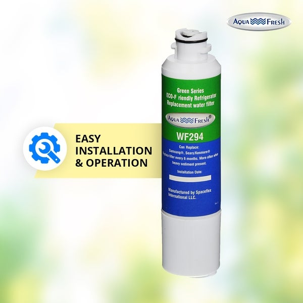 Aqua Fresh Water Filter 6 Pack Fits Samsung RF28K9380SG Refrigerators