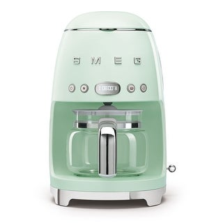 Link to Smeg 50's Retro Style Aesthetic Drip Coffee Machine, Pastel Green Similar Items in Kitchen Appliances