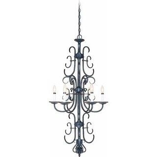 Volume Lighting V2966 Bornholm 6 Light 1 Tier Chandelier