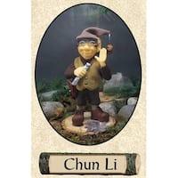 "11.5"" Zims Woodland Elves Themselves Chun Li Collectible Christmas Elf Figure"