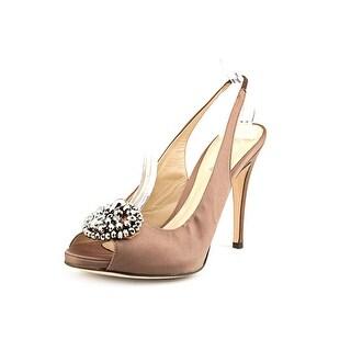 Delman Aura   Open Toe Canvas  Sandals