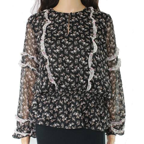 Lauren By Ralph Lauren Women's Blouse Large Floral
