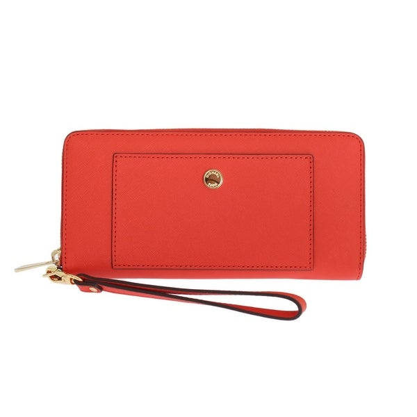 Michael kors Michael kors Red GREENWICH Continental Leather Wallet - One size