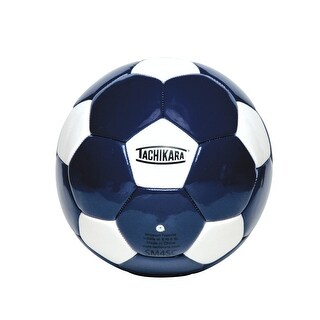 Tachikara No 5 Soccer Ball, Royal Blue/White