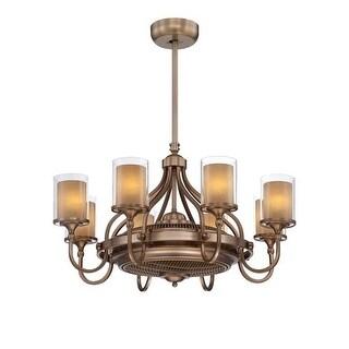 Savoy House 36-329-FD Etesian 8 Light Air Ionizing Fandelier
