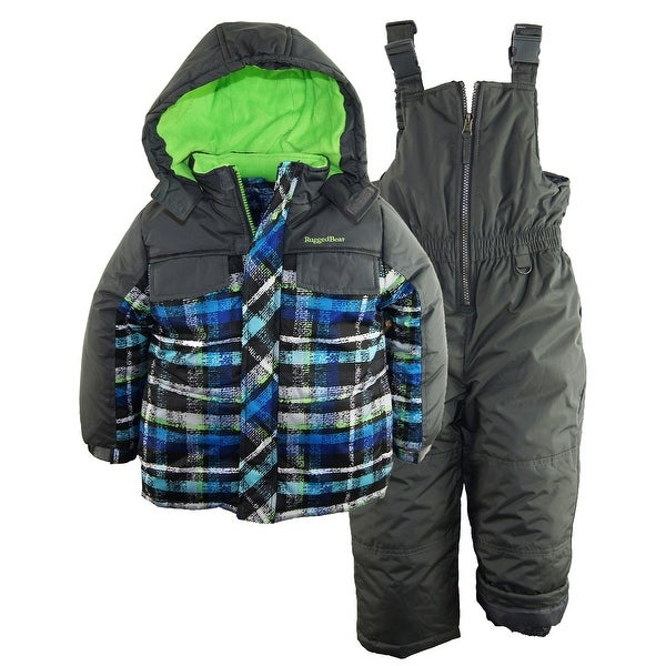 shop rugged bear baby boys 39 plaid snowboard expedition 2pc. Black Bedroom Furniture Sets. Home Design Ideas