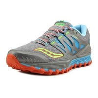 Saucony Xodus ISO Women  Round Toe Synthetic Gray Trail Running