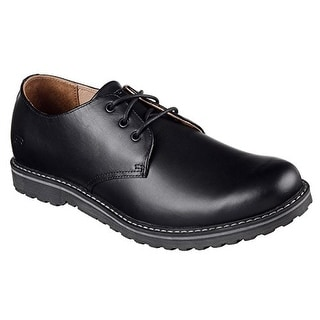 Skechers Solent Manger Mens Oxfords Black 13