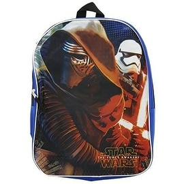 Star Wars Ep7 16-Inch Backpack Mesh Pockets with Kylo Ren