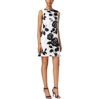 Jessica Howard Womens Mother of the Bride Dress Textured Floral Print - 16