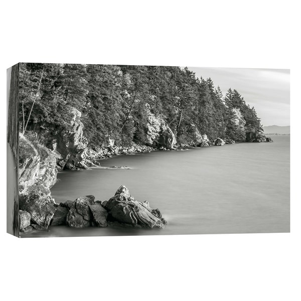 "PTM Images 9-101750 PTM Canvas Collection 8"" x 10"" - ""Autumn Coastline, Larrabee State Park"" Giclee Forests Art Print on Canvas"