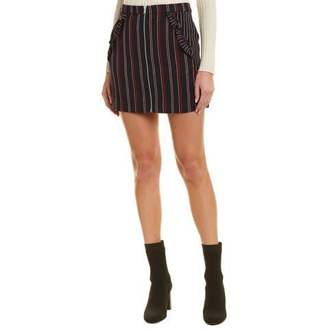 Bcbgeneration Striped Mini Skirt