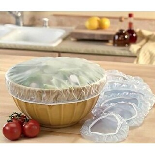 Blake And Croft 12-Piece Elasticized Bowl Covers, 3 Assorted Sizes